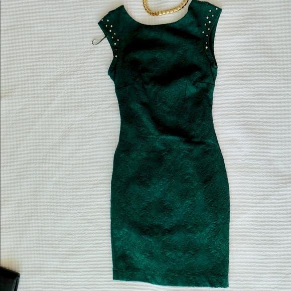 Emerald Green Cocktail Dress